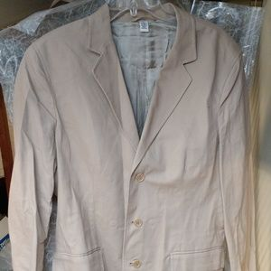 Calvin Klein Cotton sports coat. Size Large